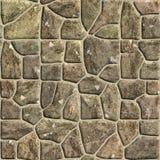 De muurtextuur van de steen Naadloos patroon royalty-vrije illustratie