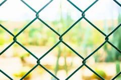 De muurverbinding van de kettingsdraad, voor veiligheid Royalty-vrije Stock Foto
