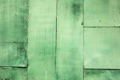 De muurverf van het Grunge concrete blad in groene kleur, Achtergrond Stock Fotografie