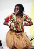 De muziek en de dans van Angola Stock Afbeelding
