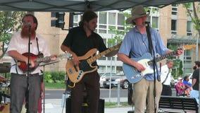 De Muziek en het Zingen van Bluegrass van het land stock footage