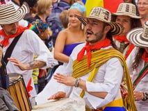De Muziek van Carnaval Royalty-vrije Stock Fotografie