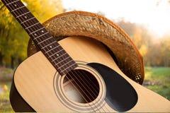 De Muziek van de country muziek stock fotografie