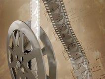 De Muziek van de film Stock Foto