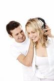 De muziek van de liefde Stock Foto's