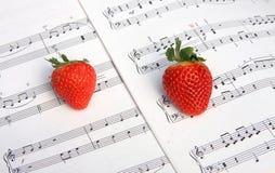 De muziek van de liefde stock afbeelding