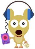 De muziek van de muis Royalty-vrije Stock Afbeeldingen