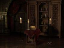 De muziek van de nacht royalty-vrije illustratie