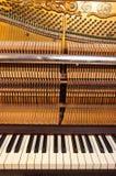 De muziek van de piano Stock Foto's