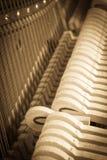 De Muziek van de piano Royalty-vrije Stock Afbeeldingen