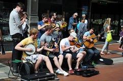 De muziek van de straat Royalty-vrije Stock Foto's