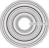 De Muziek van de streepjescode Stock Foto's
