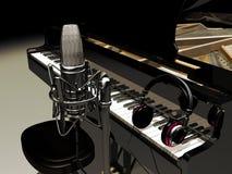 De muziek van de studio Royalty-vrije Stock Afbeelding