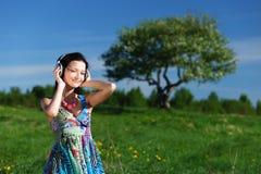 De muziek van de vrijheid stock afbeeldingen