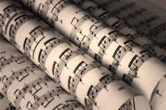 De Muziek van Grunge Royalty-vrije Stock Afbeeldingen