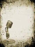 De muziek van Grunge Royalty-vrije Stock Fotografie