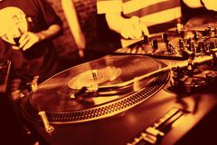 De Muziek van het Comité van DJ Royalty-vrije Stock Afbeelding
