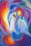De muziek van het engelenspel stock illustratie