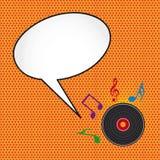 De muziek van het pop-art Royalty-vrije Stock Fotografie