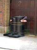 De muziek van het vuilnis stock foto