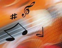 De muziek van Internet vector illustratie