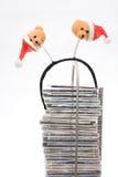 De muziek van Kerstmis Stock Foto's