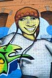 De muziek van Montreal van de straatkunst Stock Afbeelding
