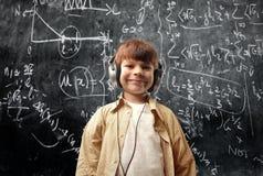 De muziek wint over wiskunde Royalty-vrije Stock Foto