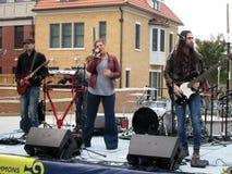 De Muziekband van het dalingsfestival Stock Foto's