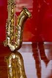 De muziekinstrument van het saxofoonmessing Royalty-vrije Stock Fotografie