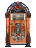 De muziekmachine van juke-boxrockola royalty-vrije illustratie