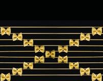 De muzieknoten worden gemaakt gebruikend een macaroni royalty-vrije stock afbeeldingen