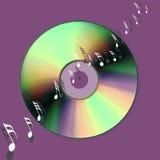 De muziekwereld van CD Royalty-vrije Stock Foto's