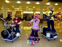 De Muzikale Band van het stuk speelgoed stock afbeeldingen