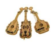 De Muzikale instrumenten van Stringed Stock Afbeeldingen