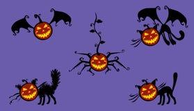 De muzikale pompoen van Halloween Royalty-vrije Stock Foto