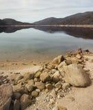 De mythe van 'Loch het monster van Ness stock foto's