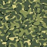 De naadloze achtergrond van de camouflage Vector militaire textuur Abstract leger en de jacht maskerend ornament vector illustratie
