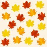 De naadloze achtergrond van de herfst Royalty-vrije Stock Afbeelding