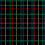 De Naadloze Achtergrond van de Plaid van het geruite Schotse wollen stof Stock Afbeeldingen