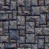 De naadloze achtergrond van de steenmuur Stock Afbeelding