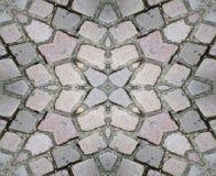 De naadloze Achtergrond van de Textuur van de Grond van de Steen Stock Afbeelding