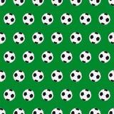 De naadloze achtergrond van de voetbal Stock Foto