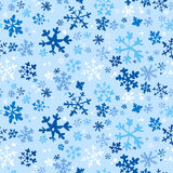De naadloze achtergrond van de winter Stock Afbeelding
