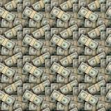 De naadloze achtergrond van Dollars Royalty-vrije Stock Afbeelding