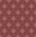 De naadloze achtergrond van Fleur De Lis van de marsalakleur Stock Foto