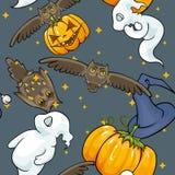 De naadloze achtergrond van Halloween Royalty-vrije Stock Foto