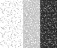 De naadloze achtergrond van het bladpatroon vector illustratie