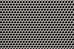 De naadloze achtergrond van het de sprekersnet van het textuurijzer Stock Afbeeldingen