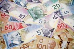 De naadloze achtergrond van het geld Stock Foto's